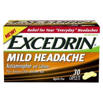Excedrin Mild Head Ache Reliever Caplets - 30 Count