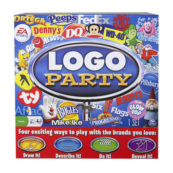 Spin Master Logo Party Game - Spin Master