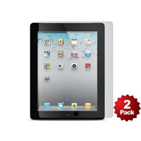 Monoprice Screen Protector (2-Pack) w/ Cleaning Cloth for iPad 2, iPad 3, iPad 4 - Transparent Finish