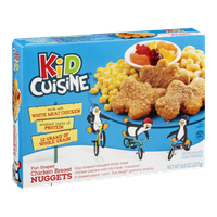 Kid Cuisine Fun Shaped Chicken Breast Nuggets Dinner