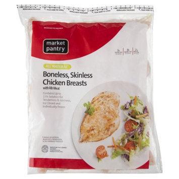market pantry Market Pantry Bonless, Skinless Chicken Breast 2.5 lbs