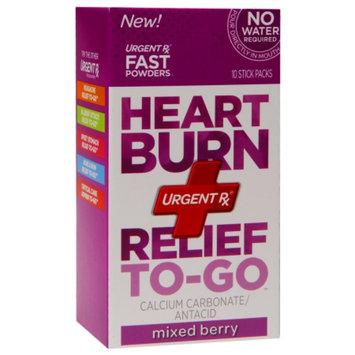 UrgentRx Heartburn Relief To-Go Mixed Berry