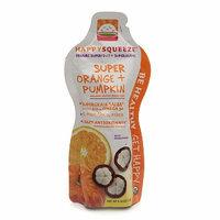 Happy Squeeze Super Orange + Pumpkin with Mangosteen Organic Smoothie