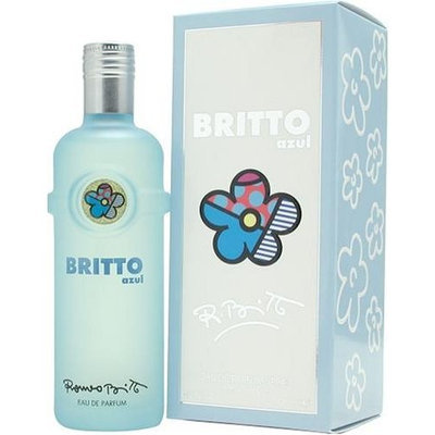 Britto Azul By Romeo Britto For Women. Eau De Parfum Spray 4.2 Ounces