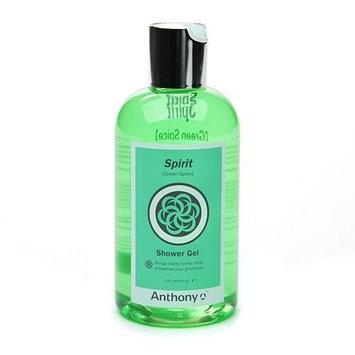 Anthony Body Essentials Shower Gel-Spirit-8, Oz.