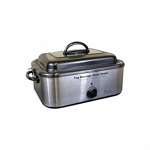 Sivan Health And Fitness Top Massage Large Professional Hot Stone 18-quart Heater