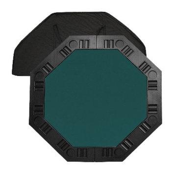 Trademark Global 8 Player Octagonal Poker Game Table top - Dark Green (48