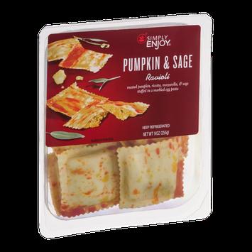 Simply Enjoy Pumpkin & Sage Ravioli