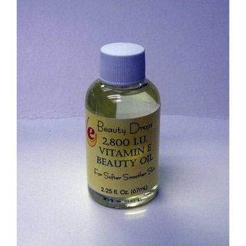 Beauty Drops Vitamin E Facial Moisturizer Oil 2800 IU 2.25 Oz