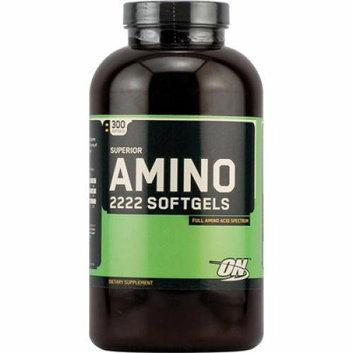 Optimum Nutrition Superior Amino 2222 Softgels 300 Softgels