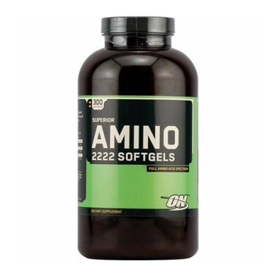 Optimum Nutrition Superior Amino 2222 Softgels 300 Softgels