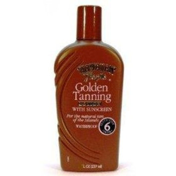 Hawaiian Tropic Golden Tanning Lotion With Sunscreen SPF 6, 10.8 fl. oz. (319 ml)