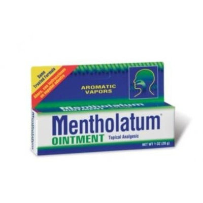 Mentholatum ointment tube, for muscle aches and pains associated with colds - 1 Oz