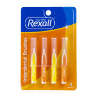 Rexall Interdental Brushes, 4 pack