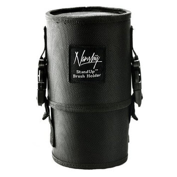 Nanshy Makeup Brush Holder Tube Pouch Bag Stand Up Cosmetic Case