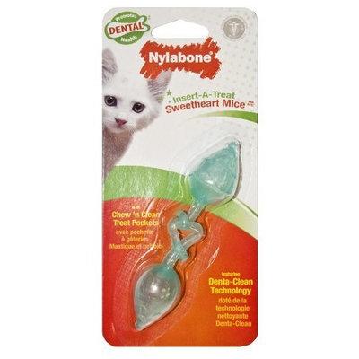Nylabone Cat Dental Insert-A-Treat Sweetheart Mice