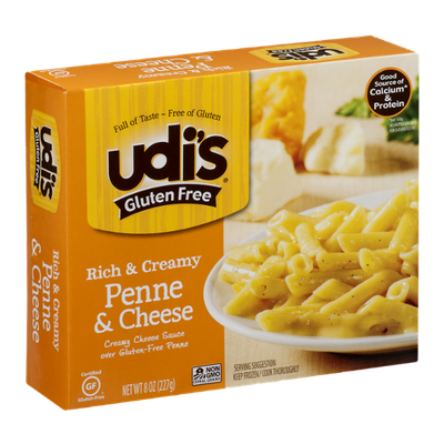 Udi's Gluten Free Rich & Creamy Penne & Cheese