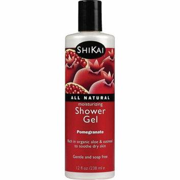 Shikai Products Shikai All Natural Moisturizing Shower Gel Pomegranate 12 fl oz