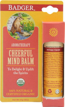Badger - Cheerful Mind Balm Stick - 0.6 oz.