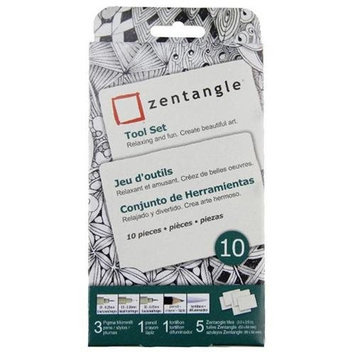 Zentangle Clamshell Pencil Set, 9 Pieces by Sakura