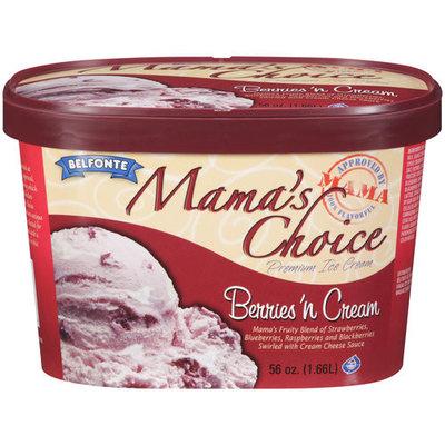 Placeholder Belfonte Mama's Choice Premium Berries N Cream Ice Cream, 56 oz