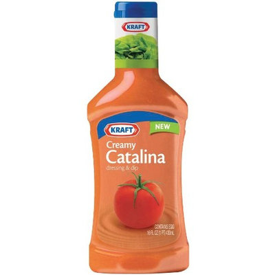 Kraft Foods Kraft Creamy Catalina Salad Dressing, 16-Ounce Packages (Pack of 6)