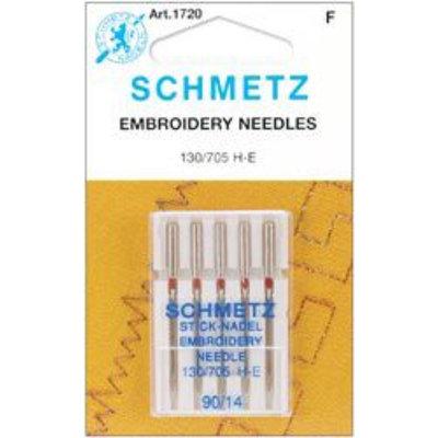 Schmetz Machine Embroidery Needle Size 90/14