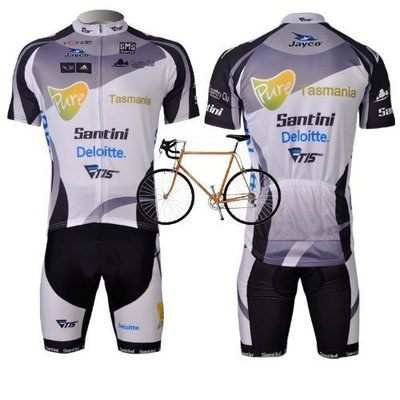 2012 Style SANTIN cycling jersey Set short-sleeved jersey /Perspiration breathable