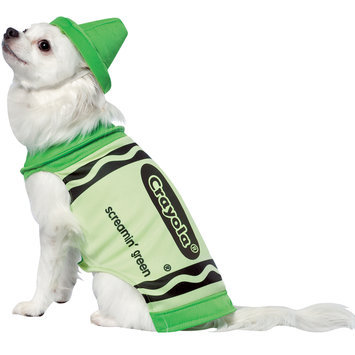 Rasta 4530-S CRY Green Dog Costume - Small
