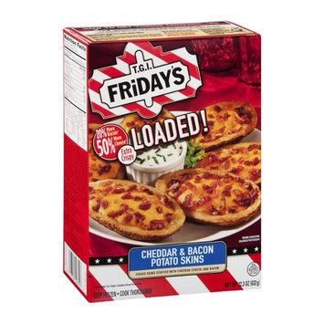 T.G.I. Friday's Loaded! Potato Skins Cheddar & Bacon