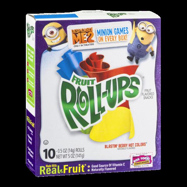 Betty Crocker® Fruit Roll-Ups® Blastin' Berry Hot Colors
