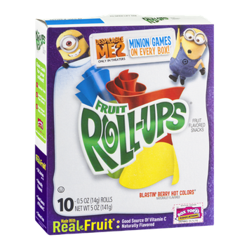 Betty Crocker® Fruit Roll-Ups® Blastin' Berry Hot Colors
