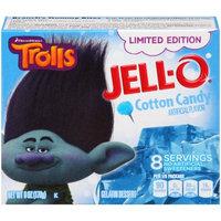 JELL-O Trolls Limited Edition Cotton Candy Gelatin Dessert Mix