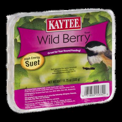 Kaytee High Energy Suet Wild Berry