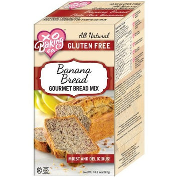 XO Baking Co. XO Baking Co Bread Mix, Banana, 10.3-Ounce