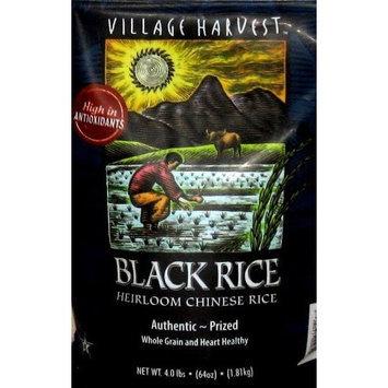 Village Harvest Heirloom Chinese Black Rice - 4 Lb/64 Oz []