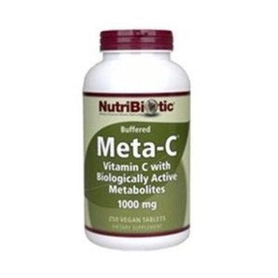 Meta-C 1000mg Nutribiotic 250 Tabs