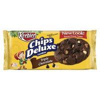 Keebler Triple Chocolate Chips Deluxe Cookies 13 oz