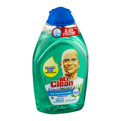 Mr. Clean Liquid Muscle Multi-Purpose Cleaner with Febreze Meadows & Rain