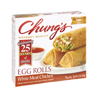 Chung's White Meat Chicken Egg Rolls - 4 CT