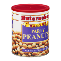 Nutcracker Salted Party Peanuts