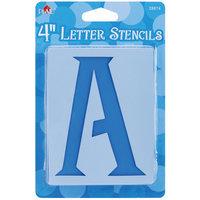 Plaid Mailbox Letter Stencils, Genie Letter, 4