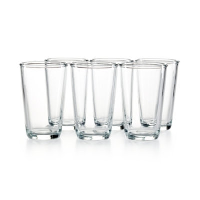 Martha Stewart Collection Everyday Entertaining Set of 6 Tumbler Glasses