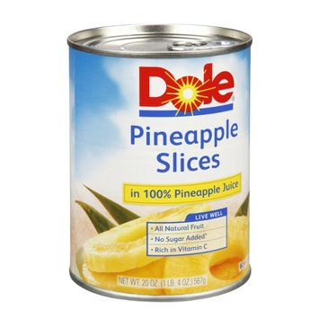 Is Dole Pineapple Slices Gluten Free Fruit Product Re...