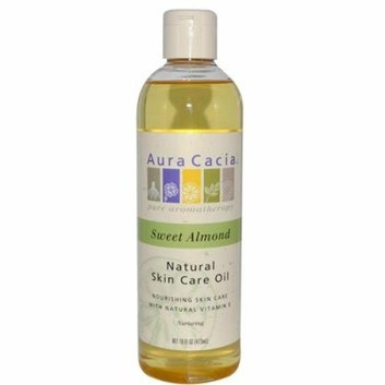 Aura Cacia Natural Skin Care Oil Sweet Almond 16 fl oz
