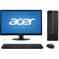 Acer Black Aspire XC Series AXC-603G-UW14 Desktop PC Bundle with Intel Celeron J1900 Quad-Core Processor, 4GB Memory, 19.5