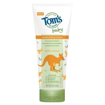 Tom's of Maine Baby Lotion, Lightly Scented, 6 oz