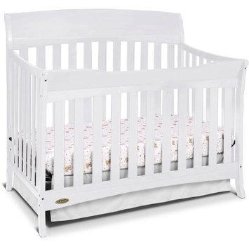 Generic Graco Lennon 4-in-1 Convertible Crib, White