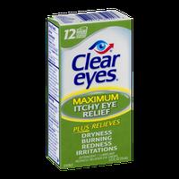 Clear Eyes Maximum Itchy Eye Relief Eye Drops