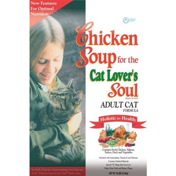 Chicken Soup For The Pet Lover's Soul Chicken Soup for the Cat Lover's Soul Dry Cat Food for Adult Cat, Chicken Flavor, 18 Pound Bag